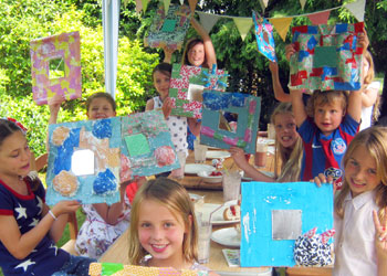 Childrens Art And Craft Birthday Parties In London